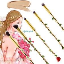 5 Pcs Makeup Brush Set Beauty and the Beast Rose Brushes Magic Cosmetics Tool