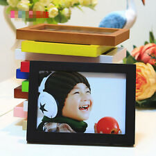 "Picture Photo Box Wall Frame A4/5""/6""/7""/8"" Multi-size Room Decor Wooden Hot"