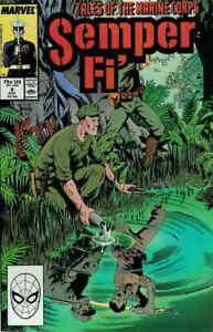 Semper Fi #9 VG; Marvel | low grade comic - save on shipping - details inside