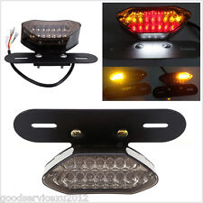 DC12V 20LED Aluminium Bracket Motorcycles Turn Signal Indicator Rear Tail Light