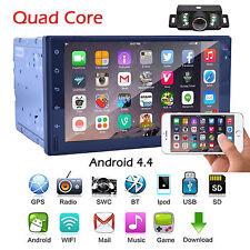 Quad Core HD Double 2Din In-Dash 7 Inch GPS Navigation Autoradio 3G/WIFI+CAMERA
