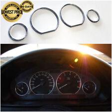 BMW E46 M M3 Chrome Speedometer Gauge Dial Rings Bezel Trim Speedo AC Tech YG