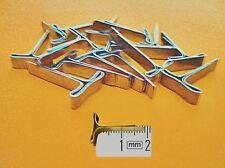 25 50 100 500 Flachkopfklammern 19mm Klammern Versandtaschen Luftpolstertaschen