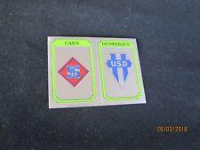 SM CAEN DUNKERQUE  Ecusson image sticker N° 323 FOOTBALL 87 PANINI 1987 BRILLANT
