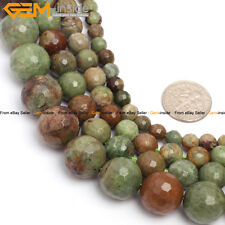 "Natural Stone Genuine Opal Gemstone Round Beads For Jewelry Making 15"" Wholesale"