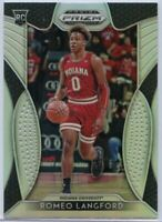 Romeo Langford Silver Rookie Card 2019 Prizm Draft Picks #16 Indiana University