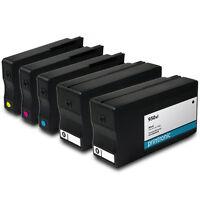 5PK Ink Cartridges HP 950xl HP 951xl for OfficeJet Pro 251dw 8600 8610 Printers