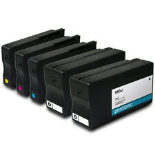 5PK Ink Cartridges HP 950xl HP 951xl for OfficeJet Pro 251dw 8600 8610 Printers