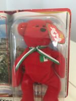 "1999 TY BEANIE BABIES ""OSITO The BEAR"" w/Error International Bears II McDonalds"
