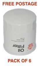 Sakura Oil Filter C-1122 FORD FALCON AU NAVARA - BOX OF 6 CROSS REF RYCO Z89A