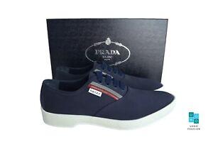 New in Box Authentic PRADA Mens Shoes Sz US10 EU43 UK9 Model 2EG240