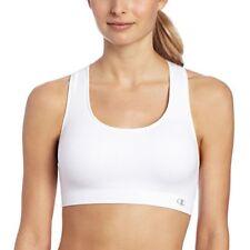 b43bde292 Champion (SALE) Women s USA Double Dry Seamless White Sports Bra Size ...