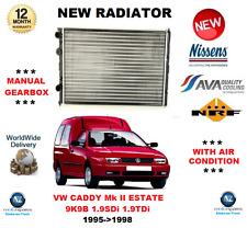 für VW Caddy Mk II Kombi 9K9B 1.9 SDI TDI 1995-1998 NEU Kühler OE-Qualität