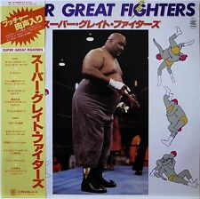SUPER GREAT FIGHTERS / PRO WRESRING / TEICHIKU JAPAN OBI