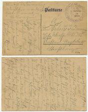34384 - Feldpostkarte nach Straßburg, datiert 11.7.1916 - Landsturm-Jnf-Ers-Batl