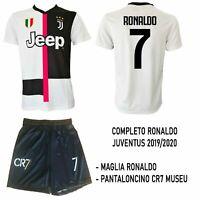 Completo Maglia Juventus CRISTIANO RONALDO Replica Ufficiale Maglietta Juve 2020