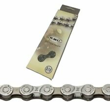 "KMC Z7 - 6 7 & 8 Speed MTB / Road Bike Chain 1/2"" x 3/32"" Silver 116 Links"