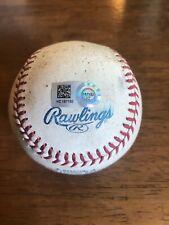 Craig Kimbrel Atlanta Braves Pitched Game Used Baseball Foul 2014 Chicago Cubs