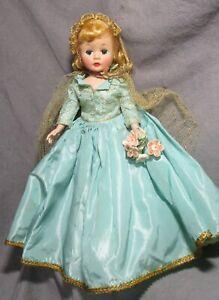 """Vintage Madame Alexander Cissette - 9"""" Hard Plastic - Dressed as Sleeping Beauty"""