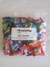 New Zotz Fizzy Candy Assorted 1 Pound 6 Flavor Aprox  85 Pcs With Blue Raspberry