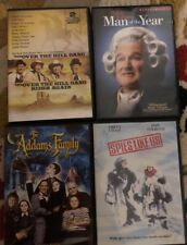 DVD Comedies: Addams Family, Spies Like Us, Man of the Year, Over the Hill Gang