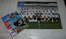 FOOTBALL DROIT AU BUT N°12 1998 OLYMPIQUE MARSEILLE OM DOMAURAUD COURBIS PIRES