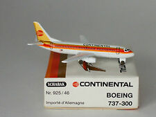 Schabak Boeing 737-3T0 Continental Airlines - Red Meatball in 1:600 scale