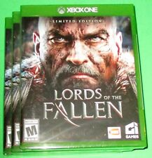 Lot of 3 Lords of the Fallen -- Limited Edition Xbox One *New-Sealed-Free Ship!