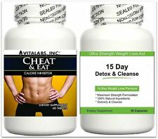 Strong Fat Blocker Binder Slimming Pill Detox Diet Carb Lose Weight Loss Tablets