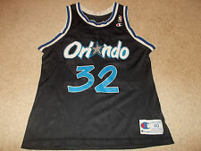 VTG-1990s Orlando Magic Shaquille O'neal Champion Basketball Jersey 40