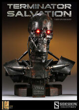 SIDESHOW TERMINATOR 1:1 SCALE T-600 ENDOSKELETON LIFE-SIZE BUST STATUE FIGURE LE