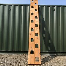 More details for antique victorian jacobs ladder 340cm x 40cm beautiful worn wooden surface