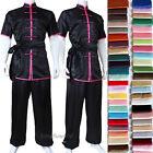 Custom Silk Satin Changquan Tai chi Suit Kung fu Wushu Martial arts Uniform