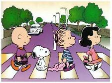 Peanuts (Charlie Brown)  # 10 - 8 x 10 Tee Shirt Iron On Transfer Abbey Road