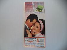advertising Pubblicità 1963 SAPONE PALMOLIVE