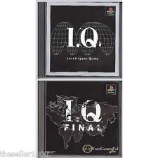PLAYSTATION 1 KURUSHI  IQ INTELLIGENT QUBE &  IQ FINAL PS1 NTSC-J (Japanese [LN]