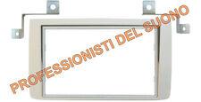 Mascherina adattatore  radio DOPPIO ISO - LANCIA Musa  SILVER dal 2010