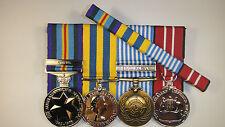 Australian Active Service Medal Korea Campain U.N. Austrailan Defence Medals