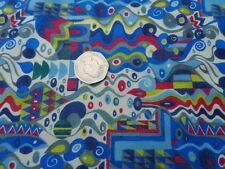 Liberty Of London Cotton 100% Tana Lawn 'Reuben Nouveau' Blue  (per metre)