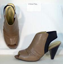 "4"" heel Size 13 wide Avenue CHANTAL taupe sandal - 191j"