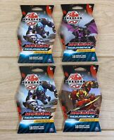 4 x Bakugan Battle Planet Bakugan Resurgence 10 Card Booster Pack - Brand New
