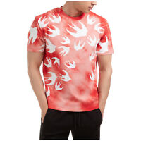 % 100 Authentic M C Q TIE DYE SWALLOW TEE RIOT RED