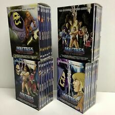 LES MAÎTRES DE L'UNIVERS : L'INTEGRALE - 4 COFFRETS, 24 DVD, 130 EPISODES - VF