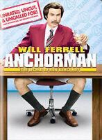 Anchorman: The Legend of Ron Burgundy DVD Adam McKay(DIR) 2004