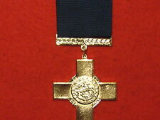 FULL SIZE GEORGE CROSS MEDAL GC MUSEUM COPY MEDAL WITH RIBBON.