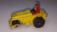 Vintage Matchbox Lesney Superfast No.21 ROD ROLLER Yellow Roller Tractor Truck