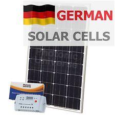 100W solar panel charging kit for motorhome caravan boat 10A controller 100 watt