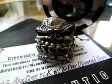 diamond pave Black coating ring Starlingear Puncher Bruiser 2 line