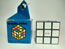 Logical puzzle game Rubik's Cube, puzzle Hungary,  vintage 80  original Rubik