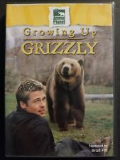 Animal Planet: Growing Up Grizzly - Narrated by Brad Pitt (DVD, 2002) OOP